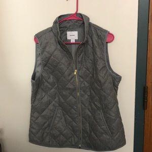 Gray Old Navy vest